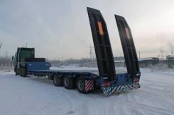 ЧелябДорМаш. В наличии низкорамный трал тяжеловоз ЧДМ (3 оси, 40 000 кг), 40 000кг.