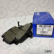 Тормозные колодки задние Akebono AN-651WK Япония