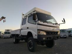 Toyota Dyna. Продам широкобазый, мостовой, двухкабинный грузовик , 4 600куб. см., 3 500кг., 4x4