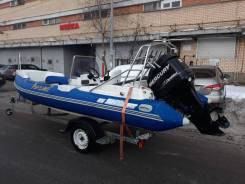 Rib Sky Boat SB 520RT+ Мотор Mercuri 75 Optimax