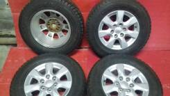 "Комплект оригинальных колес Mitsubishi Pajero 265 / 65 R 17. 7.5x17"" 6x139.70 ET46 ЦО 67,0мм."