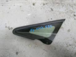 Стекло кузовное глухое левое Honda Civic 4D FD1 2006-2012