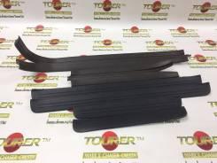 Порожки пластиковые в салон T-Cresta JZX/GX90 Коричневый