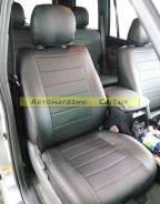 Штатные чехлы из экокожи. Модельные. Land Cruiser Prado 120 Левый руль