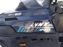 BRP Lynx Yeti Pro Army. исправен, есть псм, с пробегом