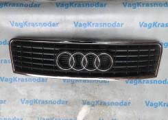 Решетка радиатора. Audi A6, C5, 4B2, 4B4, 4B5, 4B6 Audi S6, 4B2, 4B4, 4B5, 4B6 Двигатели: AKE, ALT, AML, AMM, ANK, APB, ARE, ASG, ASM, ASN, AVF, AVK...