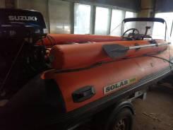 Продается моторная надувная лодка Solar - 420 Jet