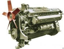 Двигатель Д-12А-375А на МАЗ-538, КЗКТ-538, ПКТ-2