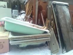 Вывоз чугунных ванн, вывоз металлолома, вывоз железных дверей