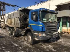 Scania P380. 6x6, 12 000куб. см., 25 000кг., 6x6