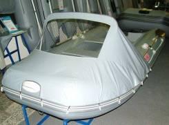 Тент носовой с окном для лодки Ривьера 2900-3200-3400 серый
