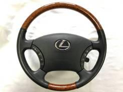 Руль. Toyota: Alphard Hybrid, Camry, Estima Hybrid, Land Cruiser Prado, 4Runner, Highlander, Avensis Verso, Alphard, Estima, GX470, Hilux, Hilux Surf...