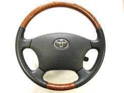 Оригинальный руль с косточкой под дерево Toyota