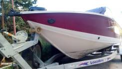 Продаю алюминиевую лодку Crestliner Super HAWK 1700