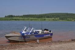 Моторная лодка Салют-480, двигатель Меркури-60 бензин,2010 г. в.