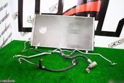 Радиатор кондиционера с трубками N. Skyline 350GT [Leks-Auto 317]