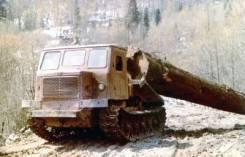 АТЗ ТТ-4. Трелевочный трактор ТТ-4