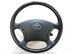 Оригинальный руль c косточкой черное дерево Toyota