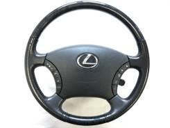 Оригинальный руль c косточкой черное дерево Lexus