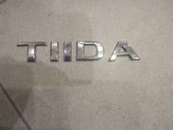 Эмблема. Nissan Tiida, C11, JC11, NC11, SC11, C11X, SC11X Двигатели: HR15DE, HR16DE, MR18DE