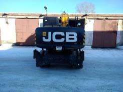 JCB. Экскаватор JSB колесный.