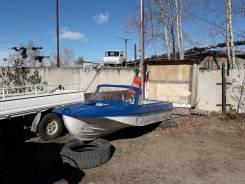Лодку Казанка 5м, с мотором Сузуки 40