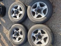 """Suzuki R16 5/139.7 ET22 5.5J Bridgestone Blizzak DM-V1 175/80/16. 5.5x16"""" 5x139.70 ET22"""