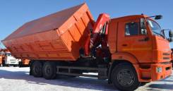 КамАЗ 65115 сельхозник с КМУ, 2020
