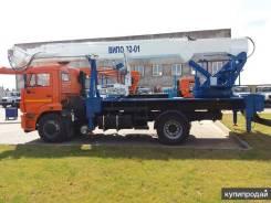 Випо-32. Автогидроподъемник ВИПО-32-01 шасси Камаз-43253 (4x2), 6 700куб. см., 32,00м. Под заказ