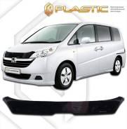 Дефлектор капота Honda StepWagon 2005-2007 (Мухобойка)