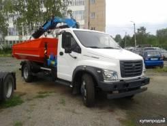 САЗ. ГАЗ с КМУ Инман ИМ 77, 4 700куб. см., 5 000кг., 4x2