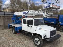 Випо-24. Автогидроподъемник ВИПО-24-01 на шасси ГАЗ-33086 (4х4) 5м. кабина, 24,00м.