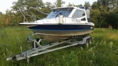 Отличный катер для рыбалки и путешествий. Река-море