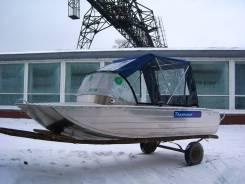 Катер алюминиевый Тактика-370 Classic