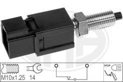 Выключатель фонаря сигнала торможения Артикул: 330044, Произв. :«ERA», в наличии на утро 07.06.20 есть