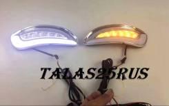 Ходовые огни с поворотником Lexus RX330, RX350, RX400h (В замен туманок)