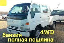Toyota Dyna. 4WD, двухкабинник +борт, 2 000куб. см., 1 500кг., 4x4