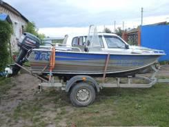 Лодка seven feet+мотор+прицеп