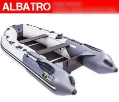 Лодка Ривьера 3400 СК Светло-серая/Графит Компакт
