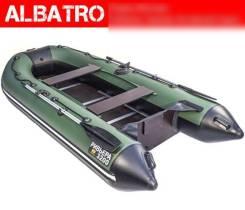 Лодка Ривьера 3200 СК Черно/Зеленая касатка