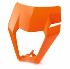 КТМ маска фары оранжевая EXC 17-21