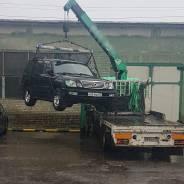 Эвакуатор-Хабаровск, бортовой грузовик с краном! Перевозка спецтехники