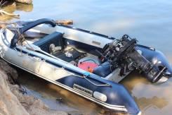 Продам лодку ПВХ с дюралевым дном Aquasparks 2008