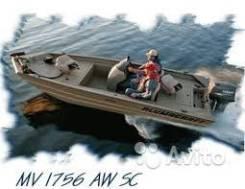 Моторная лодка Alumacraft VB 1765 ALL welded