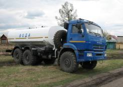 КамАЗ 43118 Сайгак. Автоцистерна для питьевой воды АЦПТ-10 КамАЗ 43118 «Белый Север»,, 12 700кг., 6x6