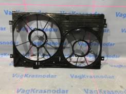 Диффузор вентиляторов VW Passat B7 CC 2011-2015