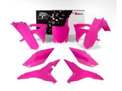 Комплект пластика R-Tech Honda CRF250R 14-17/CRF450R 13-16 неоновый розовый R-KITCRF-FU0-517