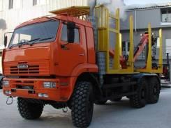КамАЗ 65224-43. Сортиментовоз на шасси Камаз-65224 с ГМ 6х6 20 тонн, 20 000кг., 6x6