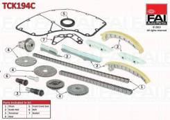 Комплект цепи ГРМ citroen relay bus 3.0 hdi 180 04/06- FAI TCK194C