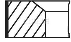 Комплект колец (1 цилиндр) Knecht 44881N0